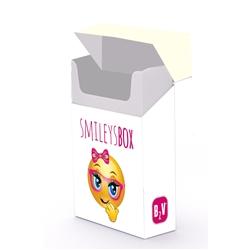 BOX SMILEY BRANCO - BOXSMILEBR