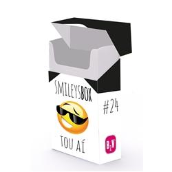 SMILEYS BOX #24 TOU AÍ - SMILEYSBOX #24