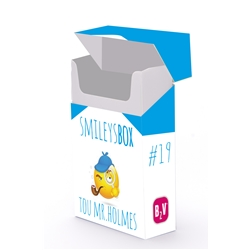 SMILEYS BOX #19 TOU MR. HOLMES - SMILEYSBOX #19