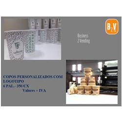 COPO DE PAPEL PERSONALIZADO LOGO - C18COPOPERSONAL