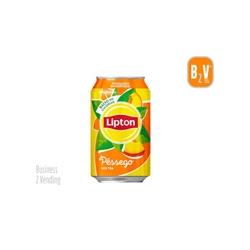 LIPTON ICE TEA PESSEGO - LATA 0.33L - - 12212LIPTONITPESSE