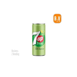 SEVEN UP FREE - 7UP FREE - LATA 0.33L - - 41146 - 7 UP FREE