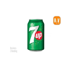 SEVEN UP - 7UP - LATA 0.33L - - 101237 - 7 UP -