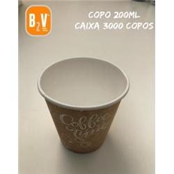 CAIXA COPO DE PAPEL 07oz / 200ml - CAIXA07OZ