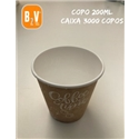 CAIXA COPO DE PAPEL 07oz / 200ml